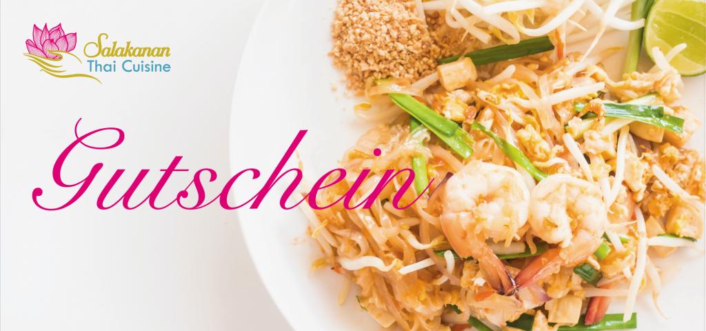 Gutschein Salakanan Thai Cuisine Offenburg