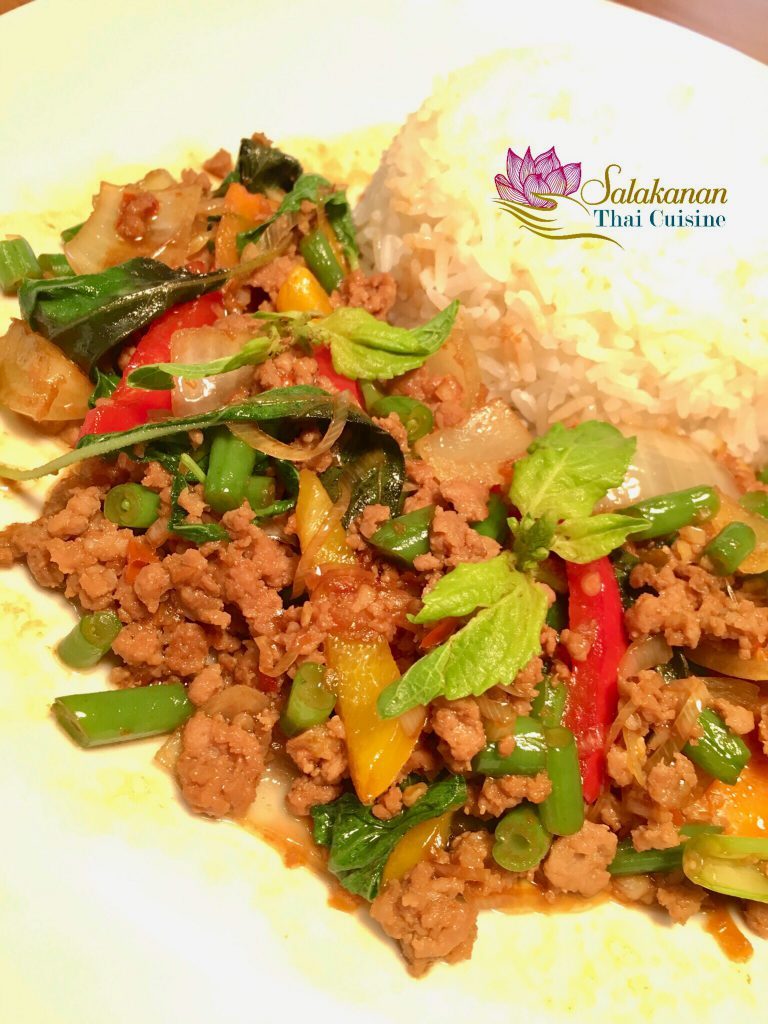 Pad Kra Pao Salakanan Thai Restaurant Offenburg